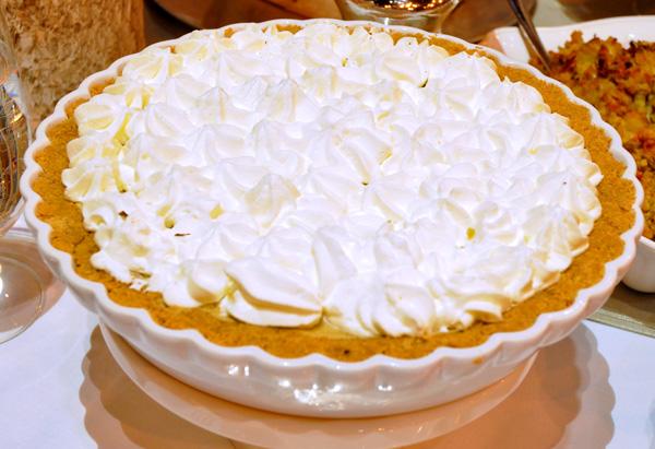 Christina Ferrare's Pumpkin Chiffon Pie