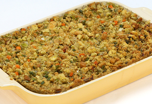 Cristina Ferrare's recipe for stuffing