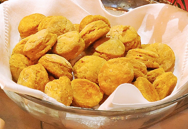 Cristina Ferrare's recipe for Sweet Potato Biscuits