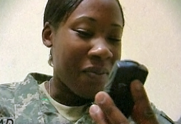 Sgt. Takila Anderson explains life for women in Iraq.