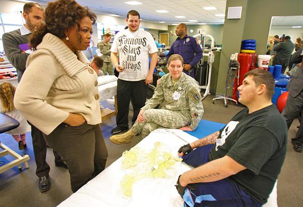 Specialist Nicholas Koulchar talks to Oprah.