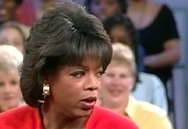 Oprah's hair in 1994
