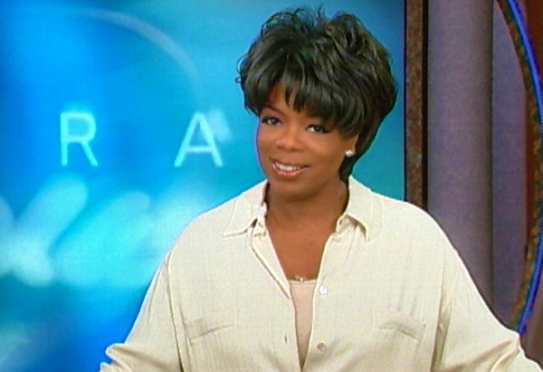 Oprah's hair in 2002