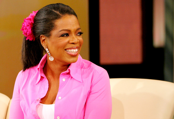 Oprah's hair in 2006