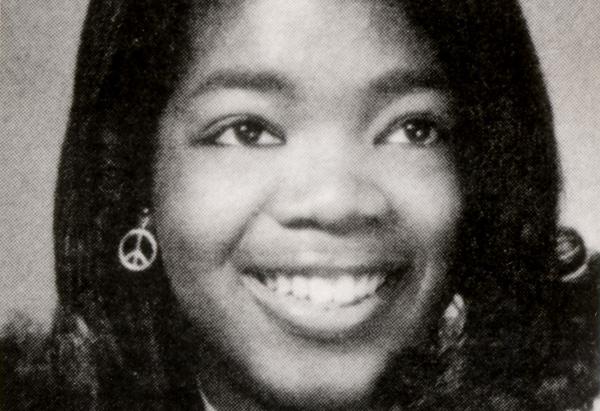 Oprah's graduation picture