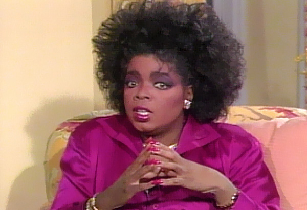 Oprah interviews Elizabeth Taylor