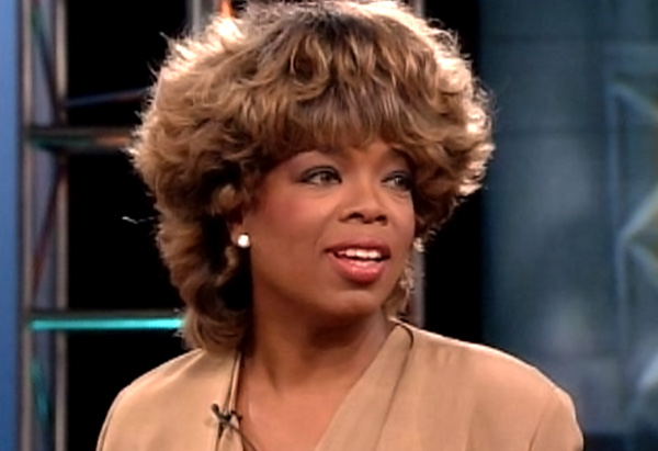 Oprah's hair in 2005