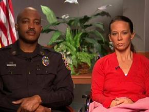 Senior Sgt. Mark Todd and Sgt. Kimberly Munley