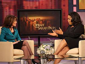 Oprah and Sarah Palin