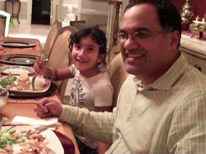 The Rathi family dinner