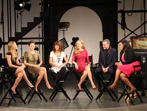 The cast of Nine, Nicole Kidman, Penelope Cruz, Kate Hudson, Marion Cotillard and Daniel Day-Lewis