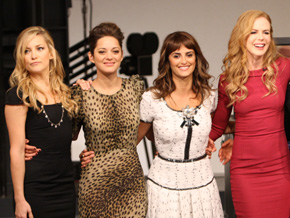 Nicole Kidman, Penelope Cruz, Kate Hudson and Marion Cotillard