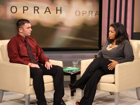 Reggie Shaw and Oprah