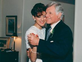 Sen. Edward Kennedy and Vicki Kennedy