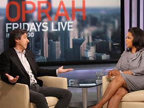 Ray Romano and Oprah