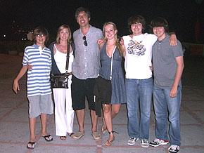 Ray Romano's family