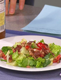 Bob Greene's Black Eyed Pea Salad with Turkey Bacon