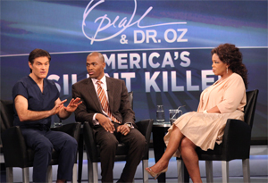 Dr. Oz, Dr. Ian Smith and Oprah
