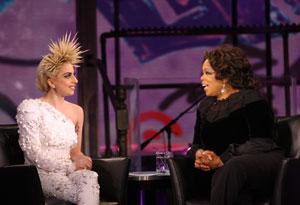 Lady Gaga and Oprah