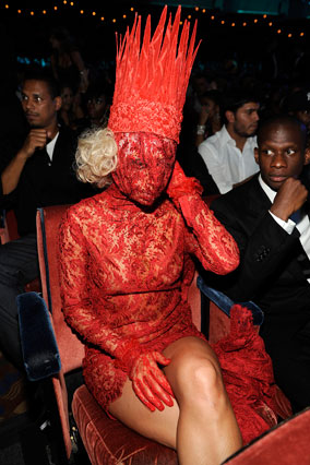 lady gaga outfits vma. Lady Gaga#39;s MTV VMA Red Carpet