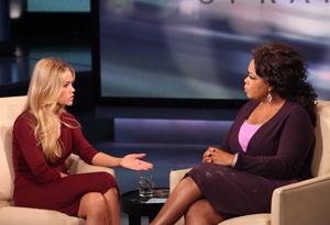 Denise Richards and Oprah