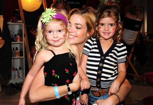 Denise Richards and Charlie Sheen's daughters, Sammy and Lola