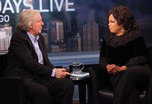James Cameron and Oprah