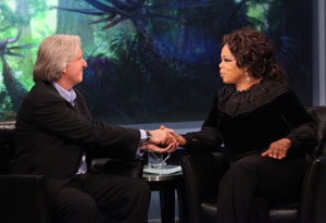 James Cameron and Oprah