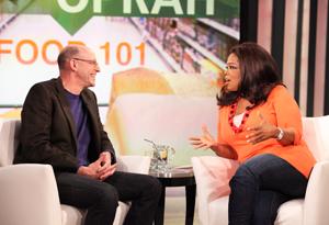 Michael Pollan and Oprah