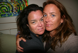 Rosie O'Donnell and Tracy