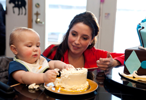 Bristol Palin and her son, Tripp