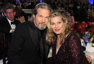 Jeff Bridges and his wife, Susan