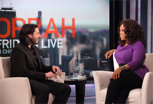Jason Reitman and Oprah