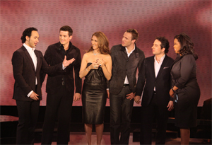 Celine Dion and The Canadian Tenors