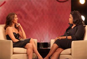 Celine Dion and Oprah