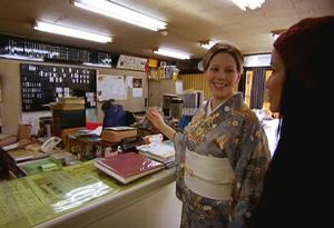 Inside a geisha office