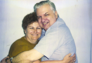 John Wayne Gacy and his sister Karen