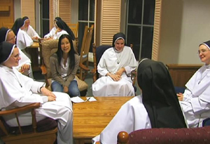 The training process for nuns