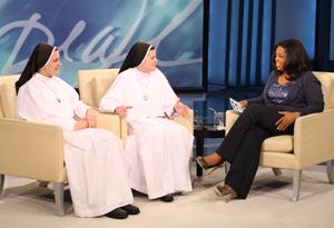 Nuns discuss celibacy.