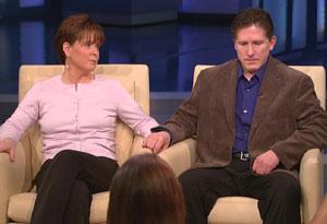 Gregg Milligan, April Milligan and Oprah
