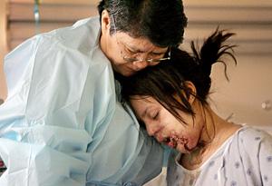 Johanna on being shot by her ex-boyfriend