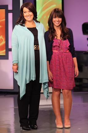 Liz and Vanessa, after