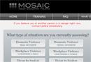 Mosaic threat assessment