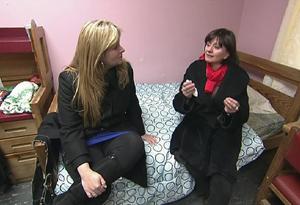 Pam Slaton and Linda