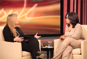 Pam Slaton and Oprah