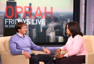 Drew Brees and Oprah