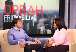 Drew Brees and Oprah