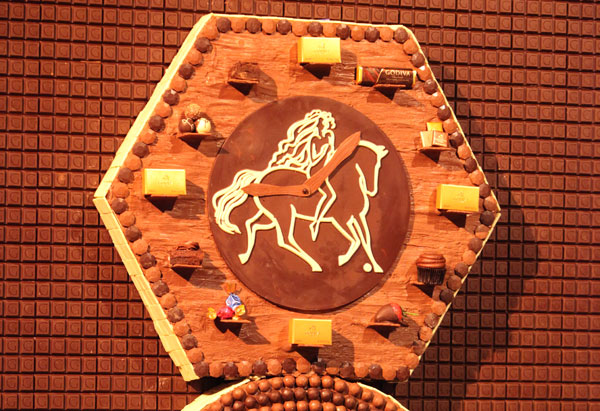 Oprah's chocolate clock