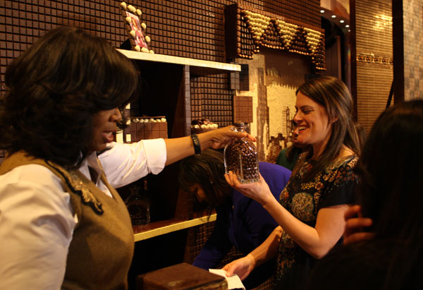 Oprah's chocolate giveaway