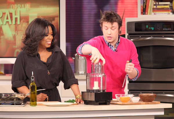 Oprah and Jamie Oliver